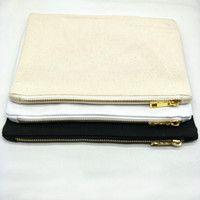 Canvas Zipper Makeup Bags Wholesale