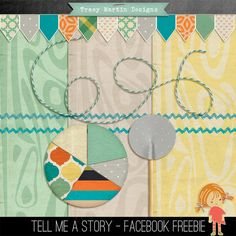Tell Me A Story tiny kit freebie from Tracy Martin Designs