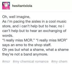 my chemical romance, panic! at the disco, fall out boy, twenty øne pi… Emo Band Memes, Emo Bands, Music Bands, Mcr Memes, My Chemical Romance, Music Is Life, My Music, Hardcore, Indie