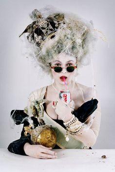 Helena Bohnam Carter shot by Tim Walker.