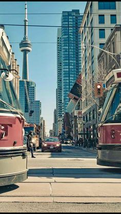 Toronto Street, Toronto City, Downtown Toronto, Canada Country, Toronto Ontario Canada, Toronto Island, Moving To Canada, City Streets, Cn Tower