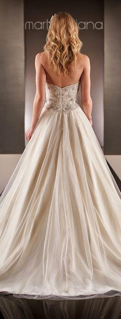 Martina Liana Spring 2015 Bridal