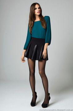 Blusas de moda invierno 2014 Moda Mab.