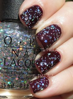 OPI Snowfakes in the Air - looks awesome glossy or matte