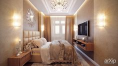 Спальня #3d_visualization #interior