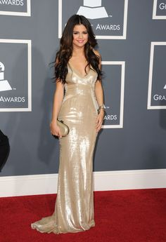 Selena Gomez in The 53rd Annual GRAMMY Awards - Arrivals