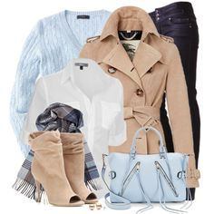 A fashion look from January 2015 featuring J.TOMSON blouses, J.Crew sweaters and Burberry jackets. Browse and shop related looks.