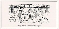 A percussive wake-up call, adventures in camp cooking and Scout first-aid skills are among the subjects in this latest batch of Scouting cartoons. Wake Up Call, Troops, 21st, Adventure, Scouting, Drum, Cartoons, Projection Alarm Clock, Cartoon