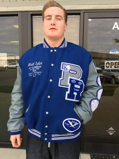pin by mike doyle on rocklin high school thunder varsity letterman jackets pinterest