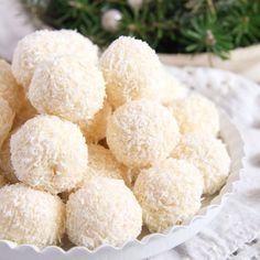Sweet and delicious homemade Rafaellos balls, these truffles would make an excellent Christmas present.