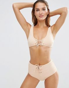 Discover the latest fashion and trends in menswear and womenswear at ASOS. Shop this season's collection of clothes, accessories, beauty and more. Crop Top Bikini, Crop Swim Top, Haut Bikini, Tankini Top, Swimsuit Tops, Bikini Swimsuit, Latest Fashion Clothes, Fashion Online, Swimming Outfit