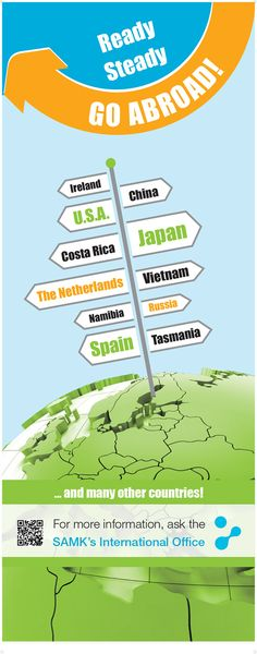 Go abroad! -rollup / SAMK kv-palvelut (2016)