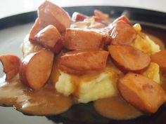 Perinteinen makkarakastike / Old-fashioned Finnish sausage sauce Sausage Sauce, Koti, Easy Cooking, Finland, Retro Vintage, Nostalgia, Vegetables, Vegetable Recipes