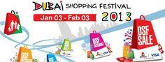 Dubai Shopping Festival 2013 - 3rd Jan - 3 Feb, 2013 #Dubai #Shopping