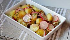 DSC_0307 Quinoa, Potato Salad, Potatoes, Ethnic Recipes, Food, Diet, Bulgur, Red Peppers, Potato