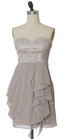 Trendy and Cute dresses - Minuet - Chiffon Tier Dress