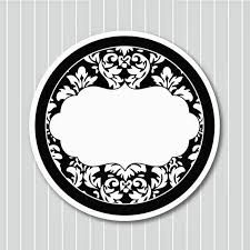 Black and White Damasks: Free Printable Toppers and Labels. Vintage Diy, Vintage Labels, Printable Labels, Free Printables, Font Combos, Chanel Party, Round Labels, Label Paper, Bottle Cap Images