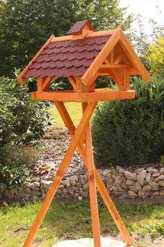 Großes Vogelhaus, Vogelhäuser behandelt auch mit Ständer und Solar Typ 33 | Garten & Terrasse, Dekoration, Vogelhäuser | eBay!