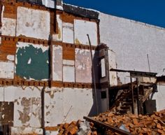 Known for his paintings, Stuart Shils photographs dilapidated buildings near his studio as inspiration for his work.  One of his rare photography pieces is now available for auction on Paddle8, as part of an online fundraiser for InLiquid.