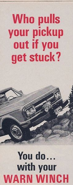 26 Best Vintage WARN images images in 2012 | Vehicles, Offroad
