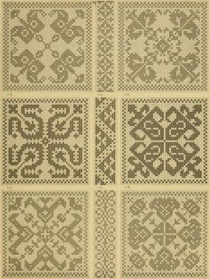 Blackwork Embroidery, Embroidery Patterns, Crochet Patterns, Cross Stitch Designs, Cross Stitch Patterns, Filet Crochet Charts, Vintage Cross Stitches, Hama Beads Patterns, Monochrom