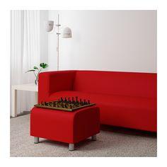 KLIPPAN Hocker - Vissle rotorange - IKEA