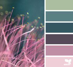 Nature Hues via @designseeds