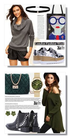 """""""SheIn 23."""" by amra-sarajlic ❤ liked on Polyvore featuring Sheinside, shein, Amanda Rose Collection, Henry London and Valentin Magro"""
