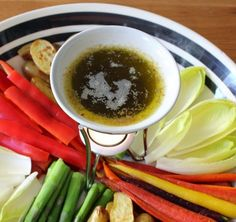 Bagna Cauda - Foodwishes - Ingredients for 1 1/4 cup Bagna Cauda: 1/2 cup extra virgin olive oil, 3 tablespoons butter, 6-8 cloves garlic (roughly chopped), 6-8 anchovy filets, 2 tsp red wine vinegar, chili flakes to taste