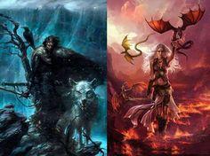 Jon Snow, o Bastardo de Winterfell, 998º Lorde Comandante da Patrulha da Noite, e Daenerys Targaryen, A Não-Queimada, Mãe dos Dragões