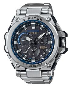 ba85420bf73 MTG-G1000 New G-Shock MT-G with GPS Hybrid Timekeeping