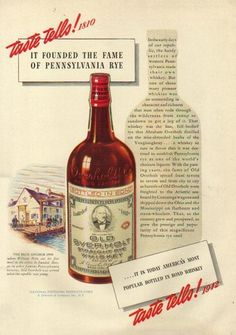 Old Overholt Rye Whiskey 1942 ad