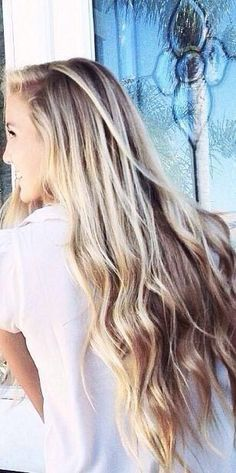 I want my hair long and thick like this. Completely love it.