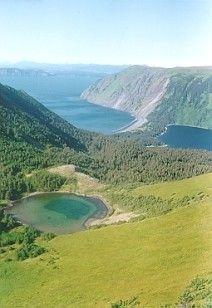 Pillar Lake as seen from Edge  Mountain Trail : Alaska