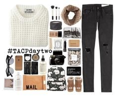 """""""☾ TACP day two; giveaway!!"""" by thundxrstorms ❤ liked on Polyvore featuring Acne Studios, rag & bone, UGG Australia, Arco, Assouline Publishing, Diptyque, Topshop, Le Labo, Akira and MAKE UP FOR EVER"""