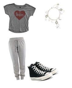 """""""Amanda: Chapter 4 (STORY ON WATTPAD)"""" by christa-harris on Polyvore featuring Converse"""