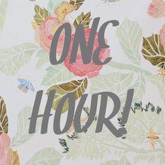 One Hour www.lularoejilldomme.com