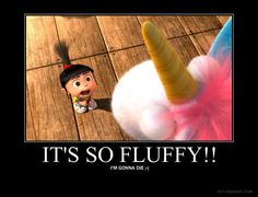 "Agnes is awesome... ""It's so fluffy!"""