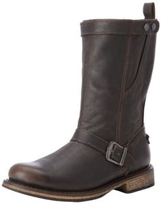Harley-Davidson Men's Vincent Motorcycle Boot,Brown,9.5 M US - http://authenticboots.com/harley-davidson-mens-vincent-motorcycle-bootbrown9-5-m-us/