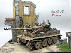Used #MiniArt's Kit: 36020 VILLAGE ROAD w/RUINED HOUSE http://miniart-models.com/36020.htm Modeller: E-Num Naronkorn Source: https://www.facebook.com/enum.naronkorn