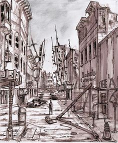 Fallout Environment and Concept Art by Adam Adamowicz. Environment Concept Art, Environment Design, Fallout Rpg, Fallout Concept Art, Paradise Falls, Fallout New Vegas, Up Book, Post Apocalypse, Retro Futurism