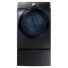 DV50K7500 7.5 cu. ft. Capacity Electric Dryer (Black Stainless Steel) | Samsung Home Appliances