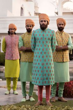 Always wanted to know what does Sabyasachi Menswear Sherwani Cost? I am sharing here some of the best wedding sherwanis along with prewedding outfits. Sherwani For Men Wedding, Wedding Dresses Men Indian, Sherwani Groom, Wedding Dress Men, Blue Sherwani, Punjabi Wedding, Indian Weddings, Wedding Couples