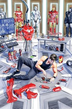 Find images and videos about Marvel, iron man and tony stark on We Heart It - the app to get lost in what you love. Marvel Comics, Marvel Heroes, Marvel Avengers, Deadpool Comics, Avengers Shield, Deadpool Wolverine, Avengers Series, Iron Man Kunst, Iron Man Art