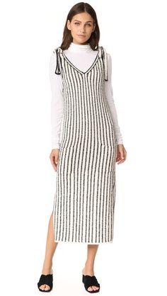 ULLA JOHNSON Nico Dress. #ullajohnson #cloth #dress #top #shirt #sweater #skirt #beachwear #activewear