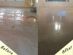 Marble Floor Polsihing Maintenance in Miami