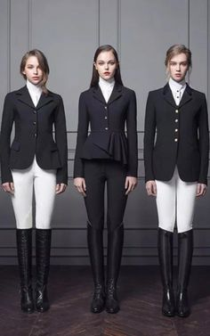 The most important role of equestrian clothing is for security Although horses can be trained they can be unforeseeable when provoked. Riders are susceptible while riding and handling horses, espec… Equestrian Chic, Equestrian Outfits, Equestrian Fashion, Equestrian Girls, Riding Hats, Horse Riding Boots, Advanced Style, Mode Style, Women's Fashion