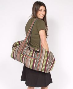 NEW! Hitchin' a Ride Duffle Bag