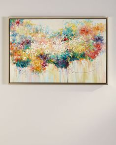 """""""Gorgeous Bouquet"""" Fine Art Giclee at Horchow. Dining Room Art, Paper Wall Art, Watercolor Canvas, Poster Prints, Art Prints, Posters, Texture Design, Lovers Art, Wall Art Decor"""