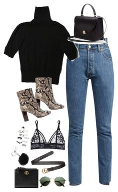 """Sem título #5181"" by fashionnfacts ❤ liked on Polyvore featuring Vetements, H&M, Tory Burch, STELLA McCARTNEY, Gucci, Topshop and Michael Kors"
